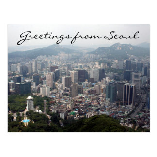 seoul vista greetings postcard