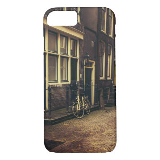 Sepia Amsterdam Street Photography, Bicycle iPhone 7 Case