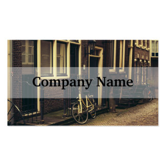 Sepia Amsterdam Street Photography, Bicycle Pack Of Standard Business Cards