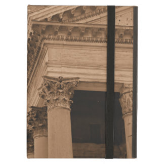 Sepia Ancient Roman Pantheon Architecture Roma Case For iPad Air