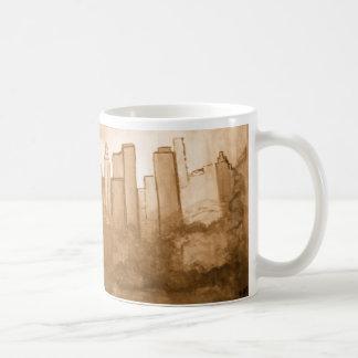 Sepia Art Reproduction of NYC Mug