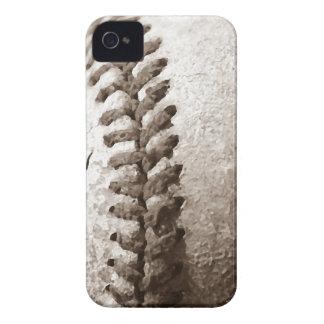 Sepia Baseball Case-Mate iPhone 4 Case