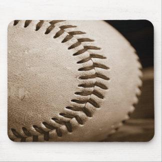 Sepia Baseball Mousepad