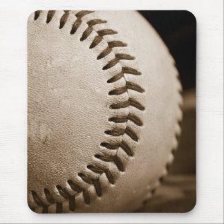 Sepia Baseball Mouse Pad