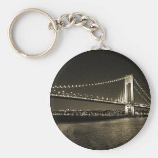 Sepia Bridge keychain