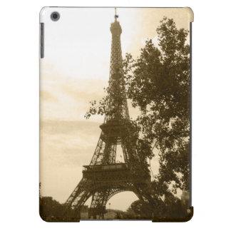 Sepia Eiffel Tower iPad Air Covers