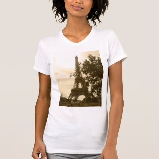 Sepia Eiffel Tower T-Shirt