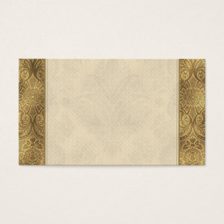 Sepia Faded Vintage Floral Business Card