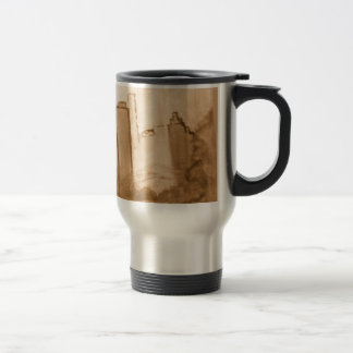 "Sepia ""Fine Art Reproduction of NYC Stainless Steel Travel Mug"