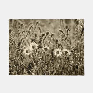 Sepia Floral Doormat