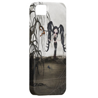 Sepia Goth Girl iPhone 5 Cover