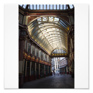 Sepia image Of Leadenhall Market London Photo Art