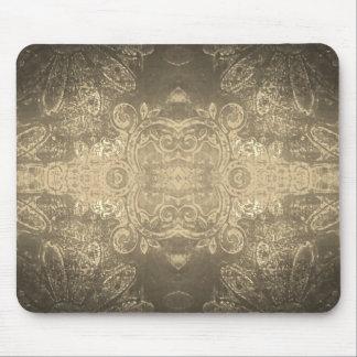 Sepia kaleidoscope mouse mat