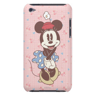 Sepia Minnie Mouse Barely There iPod Cases
