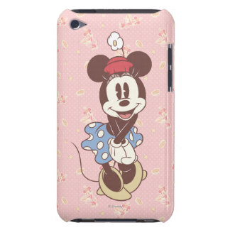Sepia Minnie Mouse iPod Touch Case