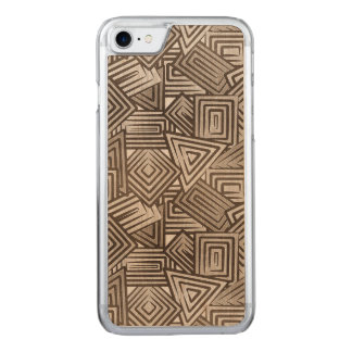 Sepia Mosaic Carved iPhone 8/7 Case