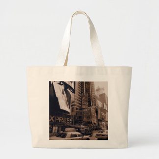 Sepia New York Times Square Bags