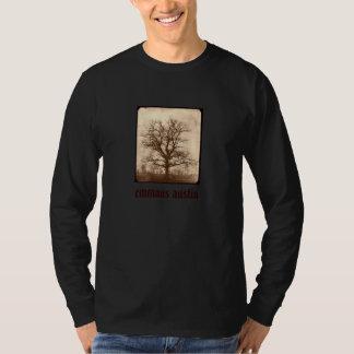 Sepia Oak Tree - Restoring Austin back T-Shirt