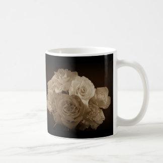 Sepia Rose Bouquet Coffee Mug