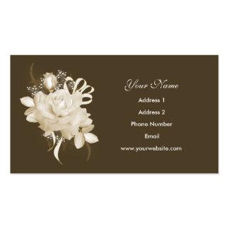 Sepia Rose Business Cards