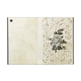 Sepia Rose Engraved iPad Mini Cases