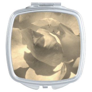 Sepia Rose Travel Mirrors