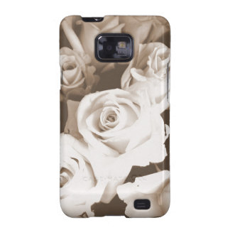 Sepia Roses Galaxy SII Covers