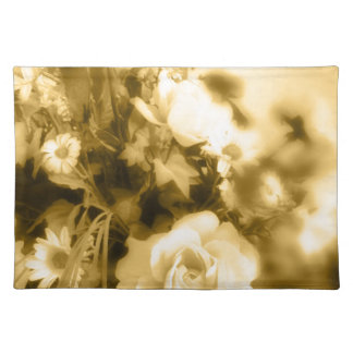 Sepia Roses Photography Place Mat