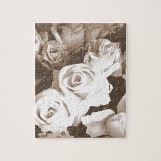 Sepia Roses Puzzles