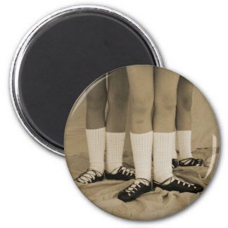 Sepia Soft Shoes Irish Dance Magnet