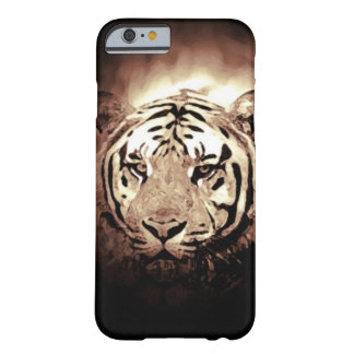 Sepia Tiger iPhone 6 Case Barely There iPhone 6 Case