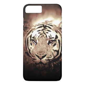 Sepia Tiger iPhone 7 Plus Case