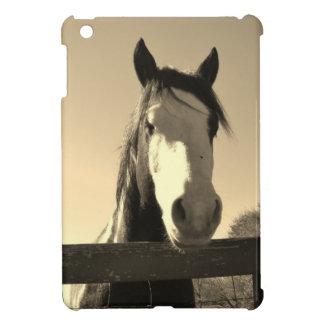 Sepia Tone Horse Case For The iPad Mini