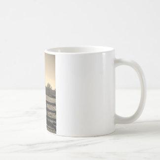 Sepia Tone  Photo of  brown  and white Horse Mug