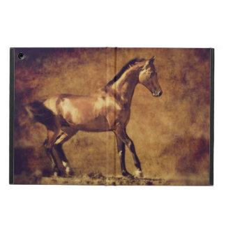 Sepia Toned Rustic Horse Art iPad Air Cases