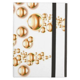 Sepia water droplets iPad air covers