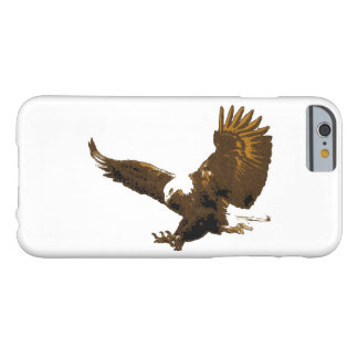 Sepia White Landing Eagle iPhone 6 Case Barely There iPhone 6 Case