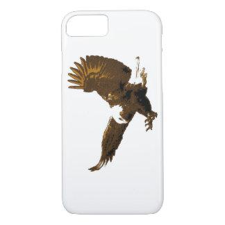 Sepia White Landing Eagle iPhone 7 Case