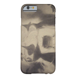 Sepia Witch Bat Night Cauldron Black Cat Barely There iPhone 6 Case