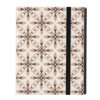 Sepia Woodland Victorian Fractal Art Covers For iPad