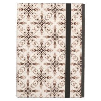 Sepia Woodland Victorian Fractal Art iPad Air Cover
