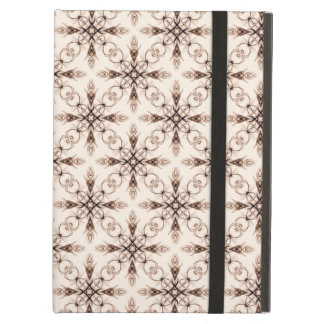 Sepia Woodland Victorian Fractal Art iPad Air Covers