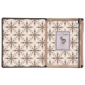 Sepia Woodland, Victorian Fractal Art Pattern