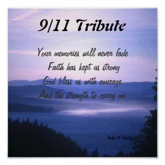 Sept 11 tribute poster