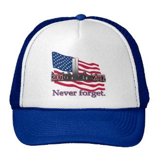 September 11 10 Year Anniversary Tshirt Cap