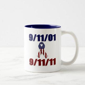 September 11, 2001 Ten Year Anniversary Coffee Mug