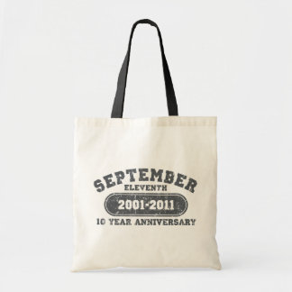 September 11 - 2011 Anniversary Canvas Bags