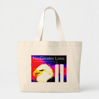 September 11 No Greater Love Tote Bags