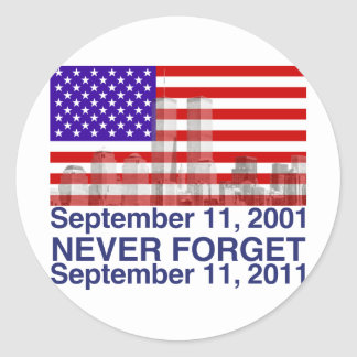 September 11 sticker