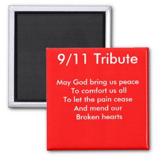 september 11 tribute magnet